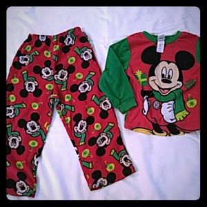 Disney's Mickey Mouse Christmas pajamas 4T